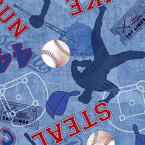 Baseball Game Motifs C7375