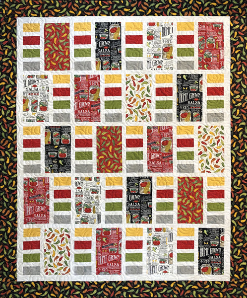 Hot Stuff Quilt Kit
