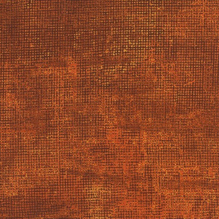 Chalk and Charcoal Cross Hatch Rust Fabric (AJS-17513-179)