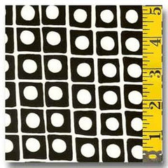 B&W Dots in a Box AJS-57461