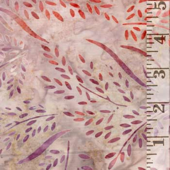 Terrace 2 Coral Wheat Batik