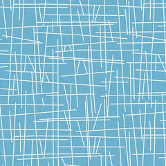 Pick Up Sticks Pool Blue Fabric (8710-T1)