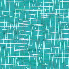 Pick Up Sticks Turquoise Fabric (8710-T3)