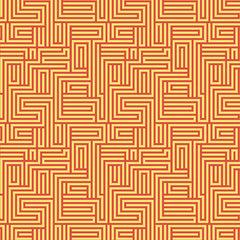 Dot Crazy Maze Orange 0600422