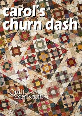 Carol's Churn Dash Pattern