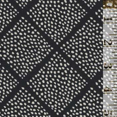 Lattice Dots Black