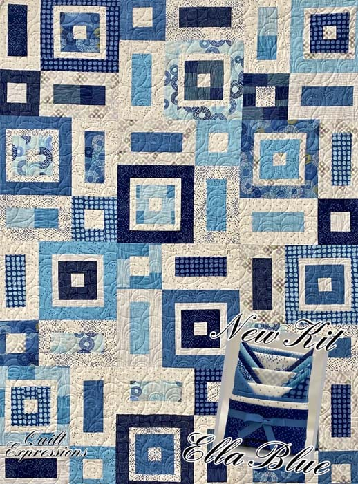 Ella Blue Breeze Quilt Kit