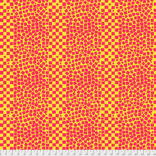 Kaffe Collective Chips Yellow Fabric (BM073.YELLOW)