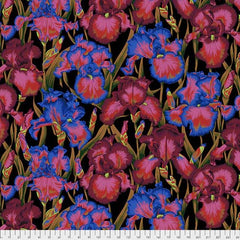 Kaffe Bearded Iris PWPJ105.DARK