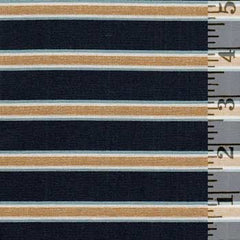 Kelmscott Gilt Stripe Navy WM007.NAVY