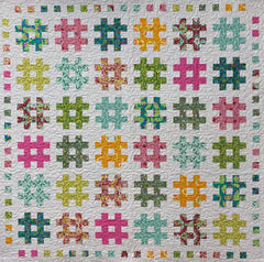 Tula Pink Weave Quilt