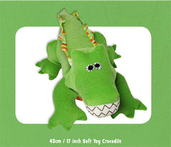 Funky Friends Alligator Steve Pattern