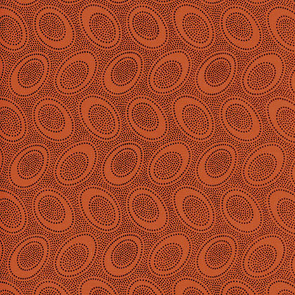 Kaffe Aboriginal Dot Orange