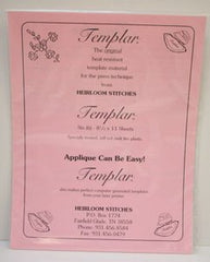 Heirloom Stitches Heat Resistant Templar Template