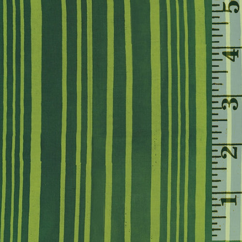 Indah Batik Stripe Avocado 181-652