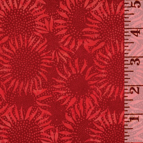 Sunflower Cherry Batik 884-403