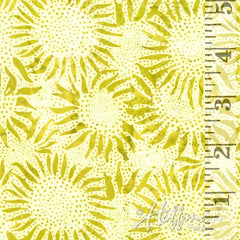 Bali Chop Batik Sunflower Key Lime 884-481