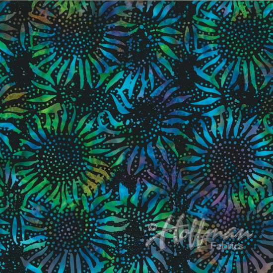 Bali Chop Batik Sunflower Spectrum 884-657