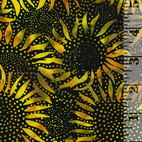 Bali Sunflower Batik Bumble Bee 884-695