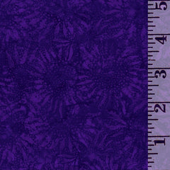 Sunflower Violet Batik 884-81