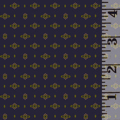 Wit & Wisdom Dotted Diamond Navy 1426-77