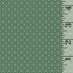 Sage & Sea Glass Dotted Hexies Blue 1544-11