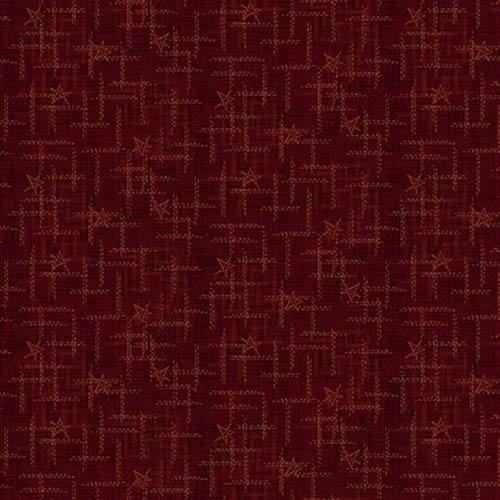 Best of Days Star Texture Red (2455-88)