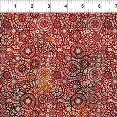 Seasons Lace Spice Fabric (9SEA1)