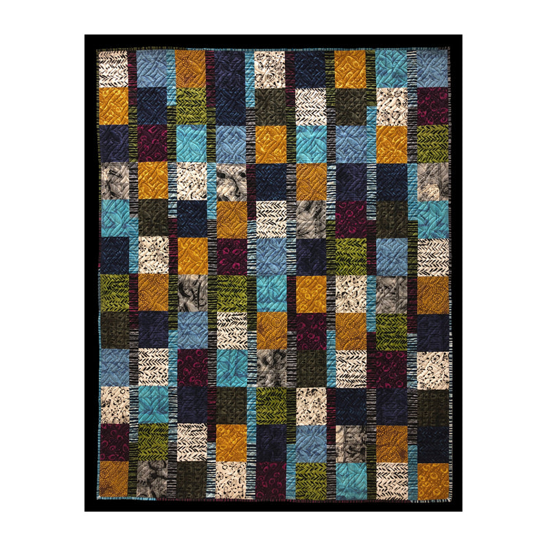 Derse Just Stripes Quilt Kit