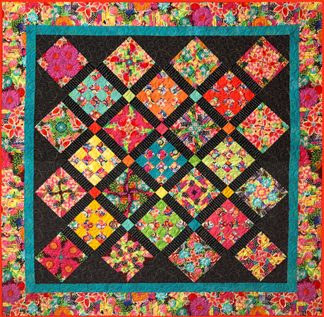 Kaleidoscope Quilt Kit