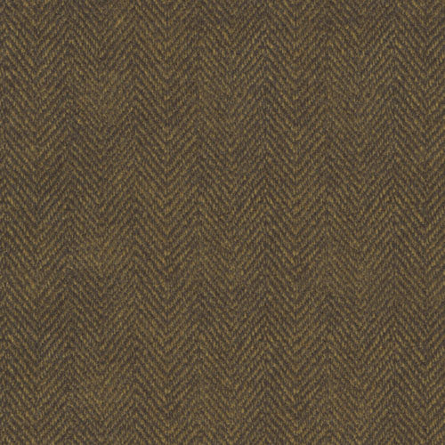 Woolies Flannel Herringbone Antique Gold MASF1841-J