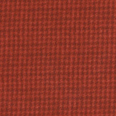 Woolies Flannel Houndstooth Rust MASF18503-R