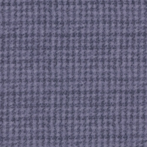 Woolies Flannel Houndstooth Purple MASF18503-V