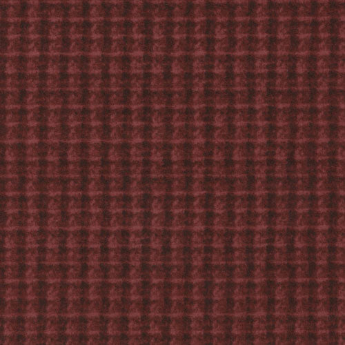 Woolies Flannel Double Weave Red MASF18504-R