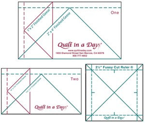 Quilt in a Day Mini Ruler Set