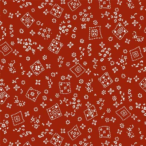 Tossed Bandana Red CX9461-Red