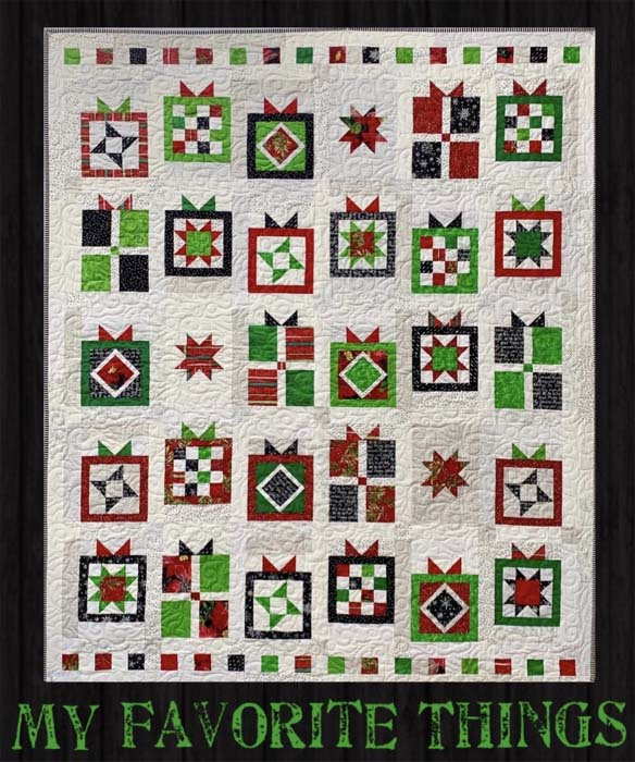 My Favorite Things Quilt Kit