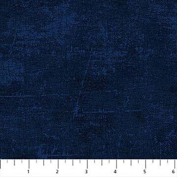 Canvas Tonal Fabric Navy Blue (9030-490)