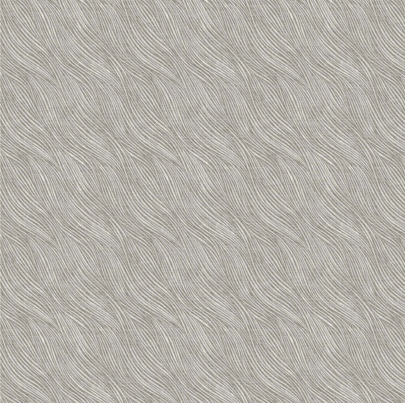 Serenity Lined Waves Grey Fabric (6028003)