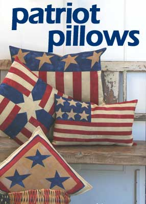 Patriot Pillows Pattern