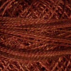 Valdani Pearl Cotton Size 12 Thread Variegated Coffee Roast