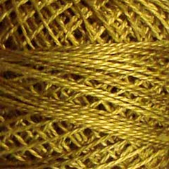 Valdani Pearl Cotton Size 12 Thread Variegated Golden Moss