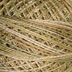 Valdani Pearl Cotton Size 12 Thread Variegated Primitive White