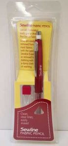 Sewline Fabric Pencil White