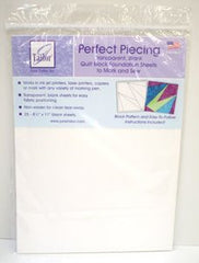 June Tailor Perfect Piecing Foundation Sheets