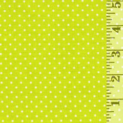 Swiss Dot Lime C670-32