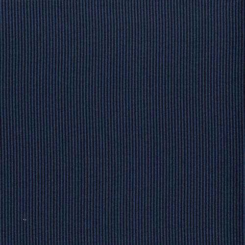 Between the Lines Stripe Navy Fabric (2960-018)