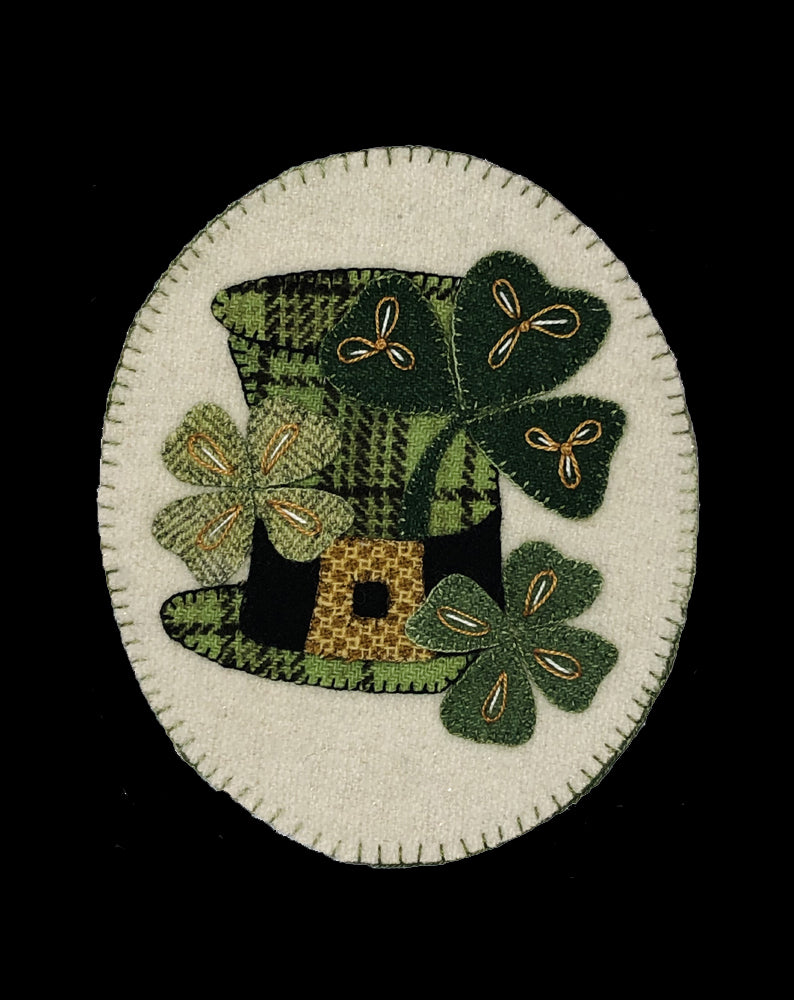 Top o' the Mornin' Shamrock Wool Kit