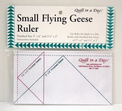 Quilt In A Day Small Flying Geese Ruler 3-1/2 x 6-1/2