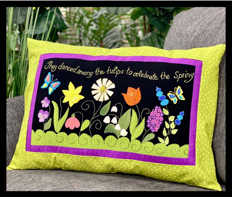 Spring Blessings Wool Pillow Kit